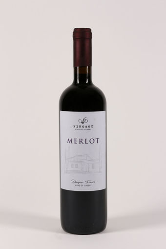 Picture of Merlot 2018  - Nikolou Winery