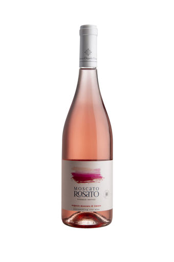 Picture of Moscato Rosato 2019 - 6 Bottles- Limnos Organic Wines