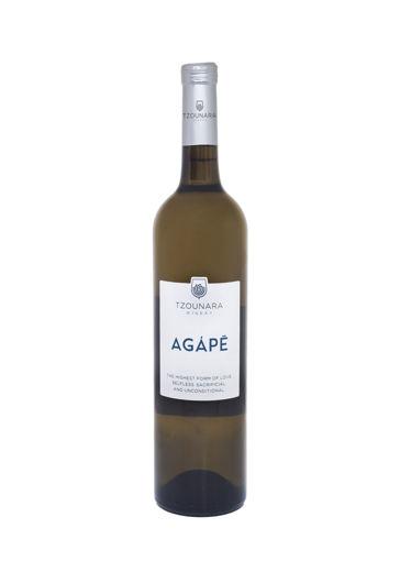 Εικόνα από AGAPE Λευκός  2019 - Οινοποιία Τζουνάρα