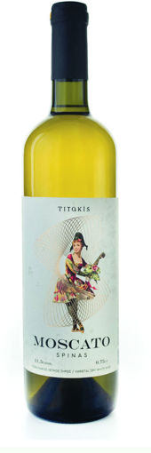 Picture of Moscato Spinas 2018- Titakis Winery