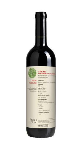 Picture of Syrah Matsa Vinification Without Sulphites 6 bottles 2019 - Boutari Winery